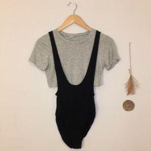 UO OFU Jane Crop Bodysuit